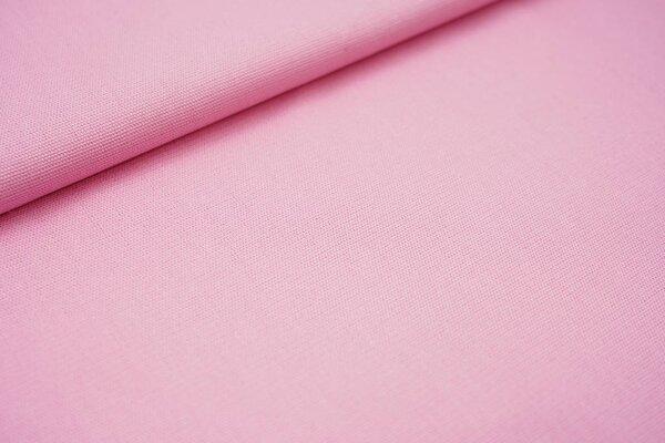 Canvas-Stoff Dekostoff uni rosa