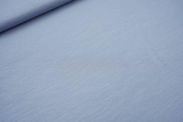 Bambus-Jersey uni hellblau