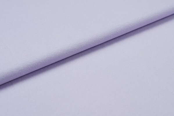 XXL Bündchen LILLY glatt Schlauchware helllila violett