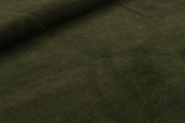 Nicki Stoff uni olivgrün