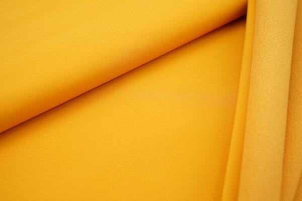 Softshell-Stoff uni senf
