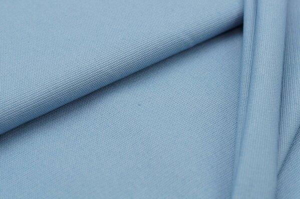 Canvas-Stoff Dekostoff uni taupe blau