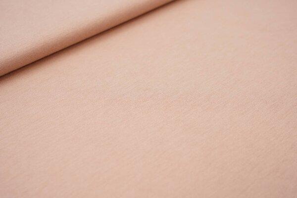 Sommer T-Shirt-Stoff / leichter Jersey uni beigerot