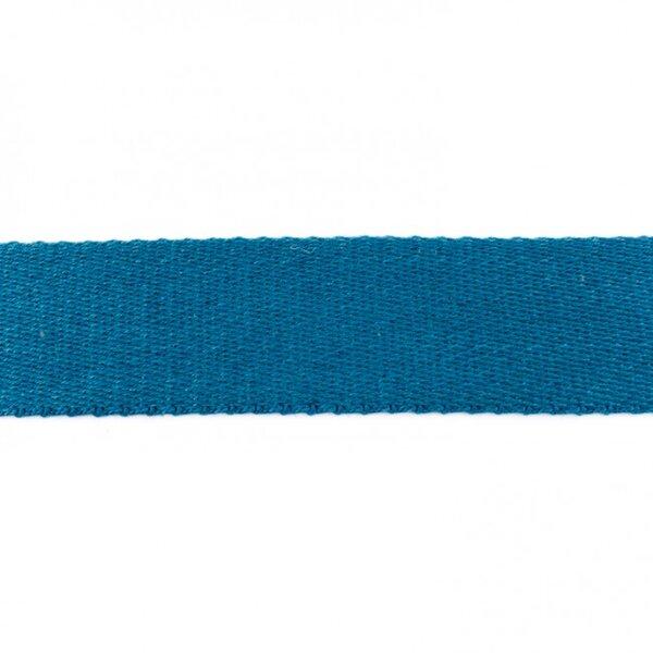 Breites Gurtband uni jeansblau 40 mm