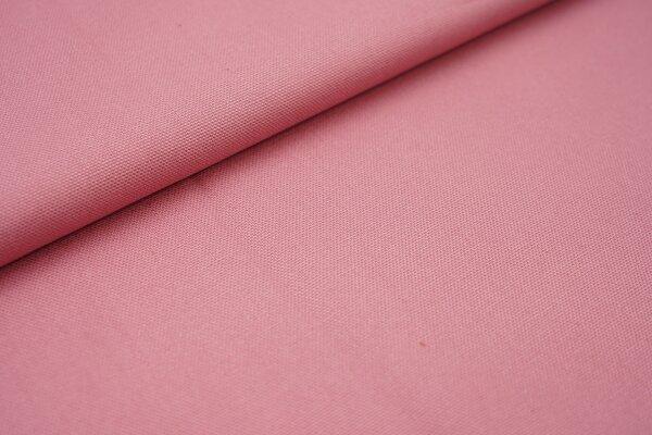 Canvas-Stoff Baumwoll Dekostoff einfarbig uni altrosa
