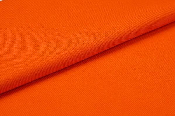 XXL Bündchen LILLY gerippt Schlauchware orange
