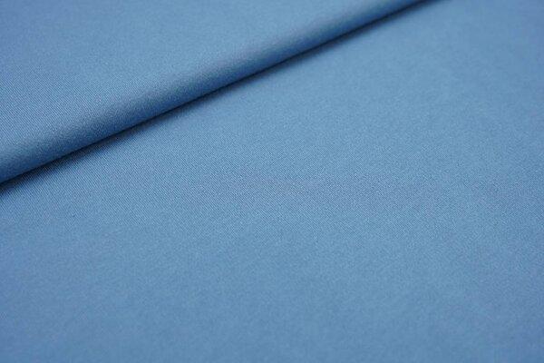 Interlock Jersey uni taupeblau