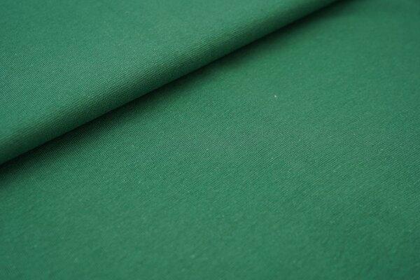 Bündchen glatt uni waldgrün