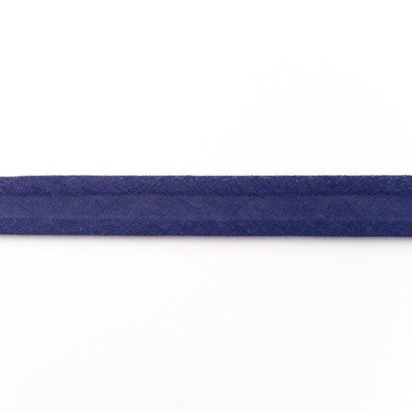 Baumwolle Schrägband uni dunkelblau 2 cm breit 3 m lang