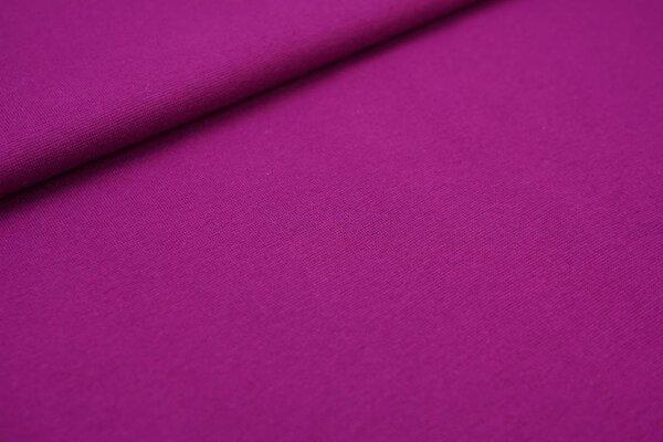 XXL Bündchen LILLY glatt Schlauchware violett / lila