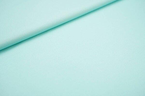 Baumwoll-Jersey Digitaldruck uni pastell eisblau