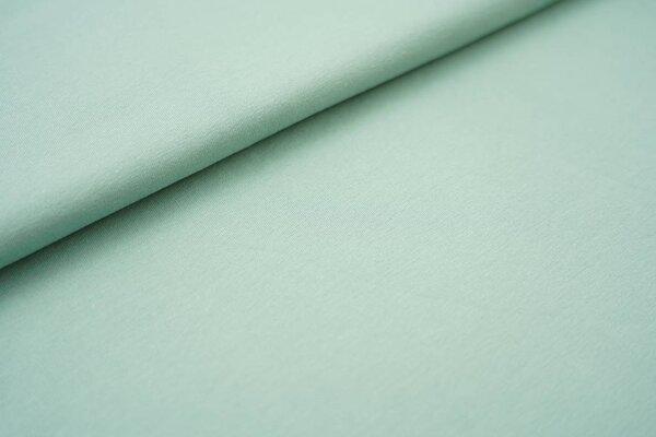 Baumwoll-Jersey einfarbig uni mint