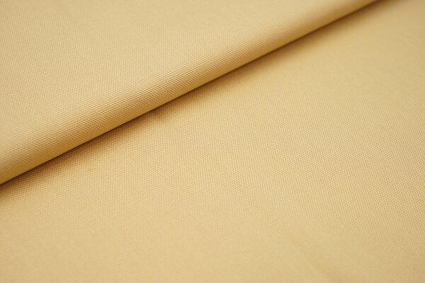 Canvas-Stoff Baumwoll Dekostoff einfarbig uni hellcaramel