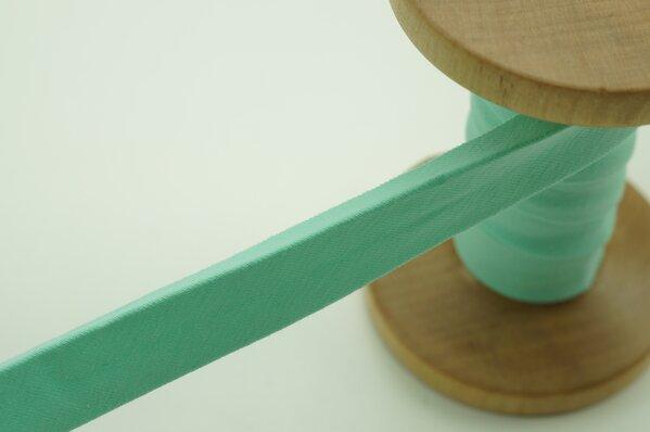 Jersey-Schrägband 1,5 cm breit mint 1 m