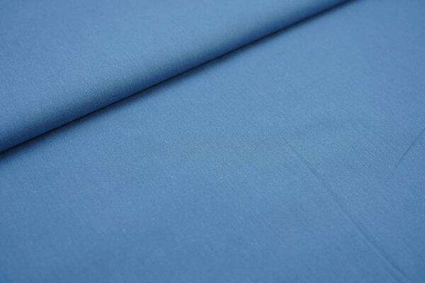 Baumwolle uni taupe blau Baumwollstoff