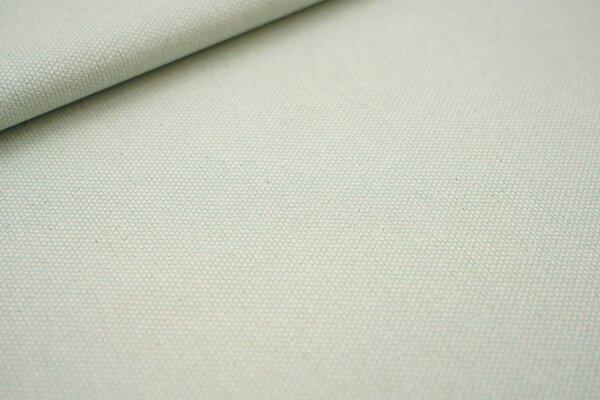 Canvas-Stoff Dekostoff Muster mit kleinen Vierecken mint / weiß