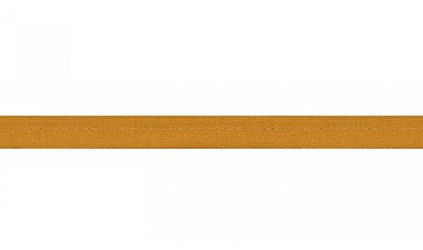 Viskose Paspelband uni ockergelb 10 mm
