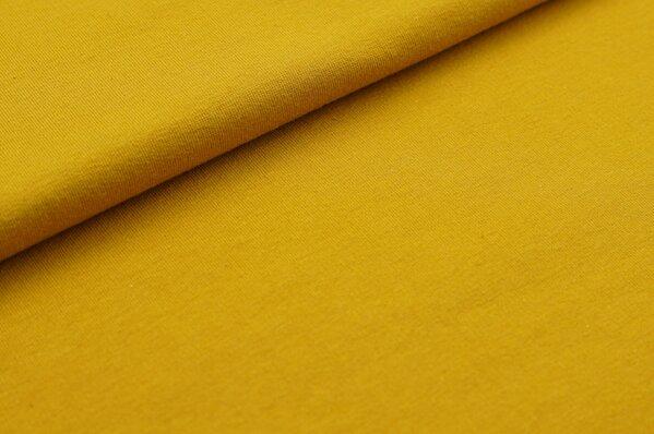 XXL Sommersweat MARIE uni senf ocker gelb