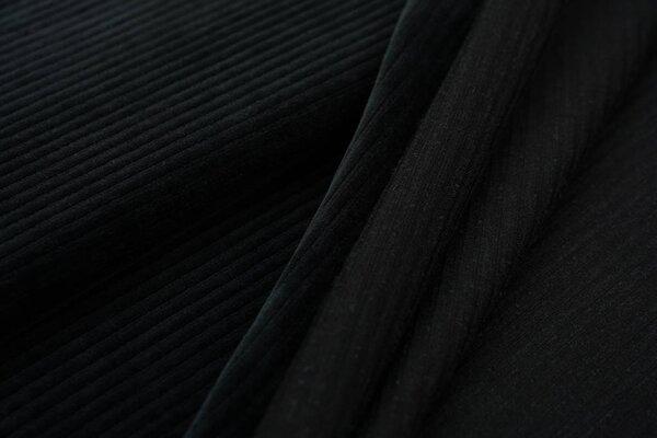 Breitcord Jersey uni anthrazit dunkelgrau