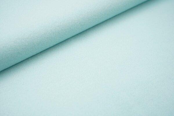Baumwoll-Fleece uni mint
