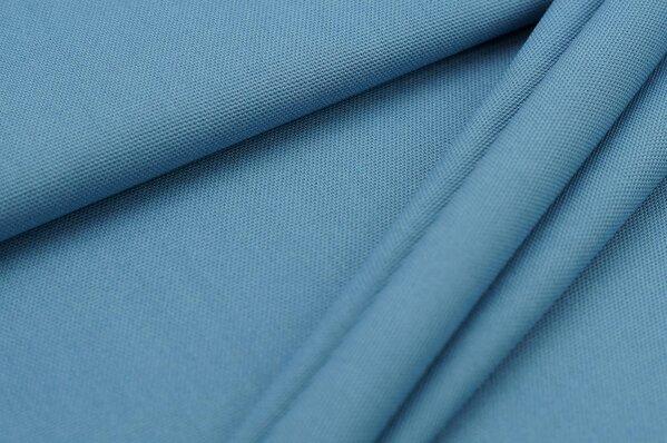 Canvas-Stoff Dekostoff uni blaugrau
