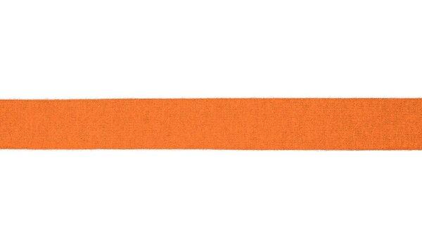 Viskose-Jersey Schrägband uni orange 20 mm Einfassband