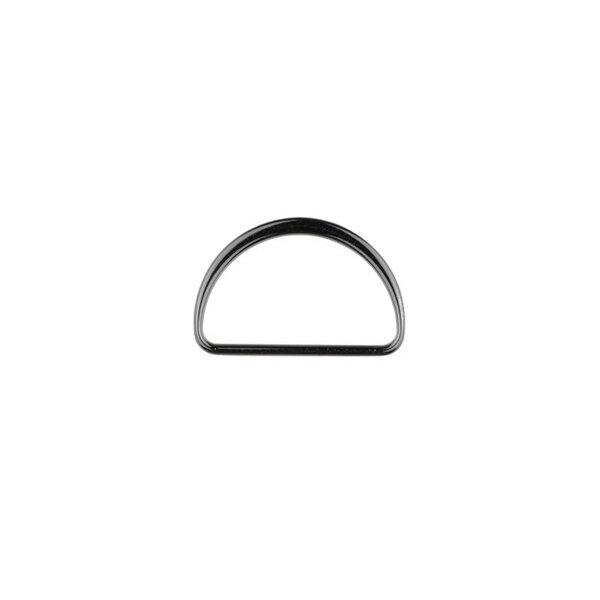 Metall D-Ring 40 mm anthrazit