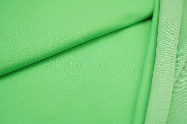 Baumwoll-Sweat uni neon grün