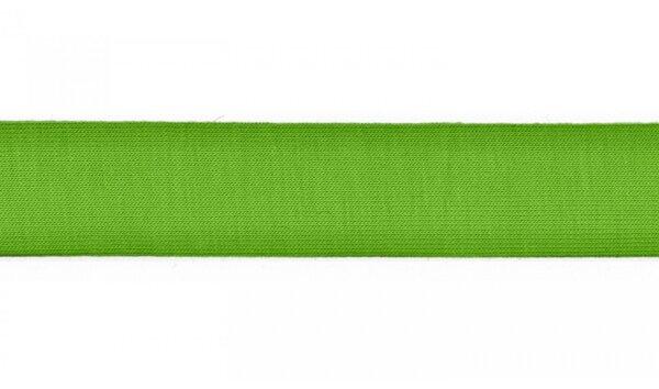 Jersey Schrägband uni apfelgrün 20 mm Einfassband