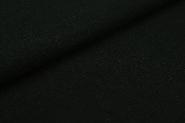 XXL Baumwoll-Jersey Marie uni schwarz