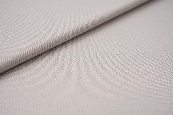 Canvas-Stoff Baumwoll Dekostoff einfarbig uni silbergrau