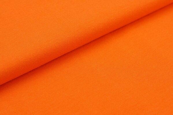 XXL Bündchen Marie glatt Schlauchware orange