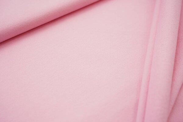 Kuscheliger Baumwoll-Sweat EIKE uni rosa babyrosa French Terry