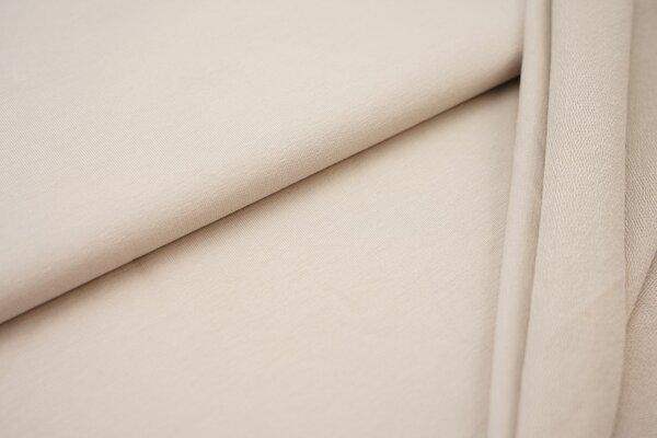 Organic Cotton Emma Baumwoll Sweat French Terry uni beige