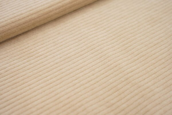 Breitcord Jersey uni sand beige