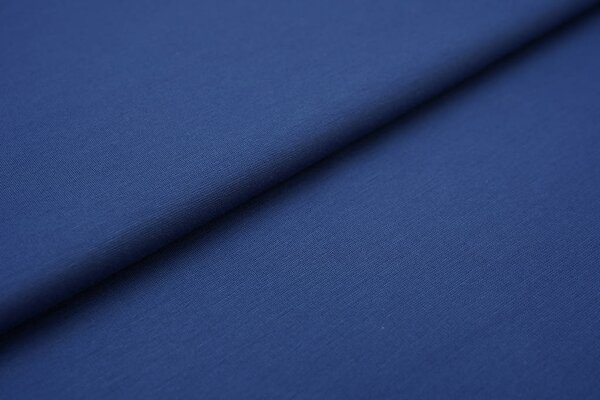Fester Jerseystoff Romanit Jersey uni taupe blau