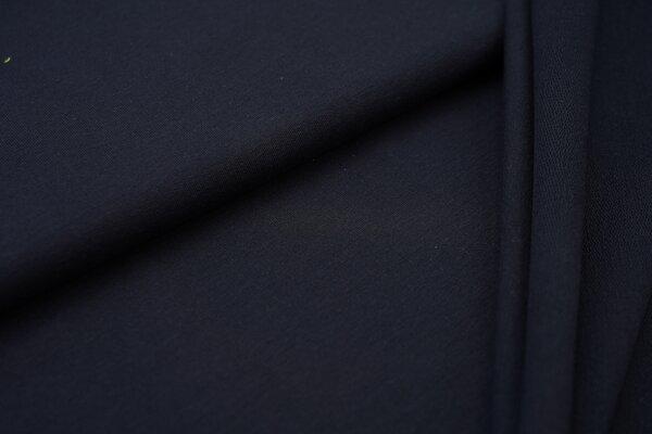 Organic Cotton Emma Baumwoll Sweat French Terry uni navy dunkelblau