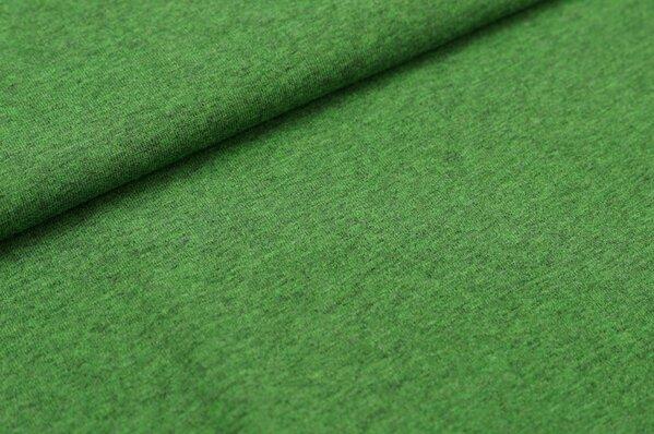 XXL T-Shirt Stoff LILLY grün meliert