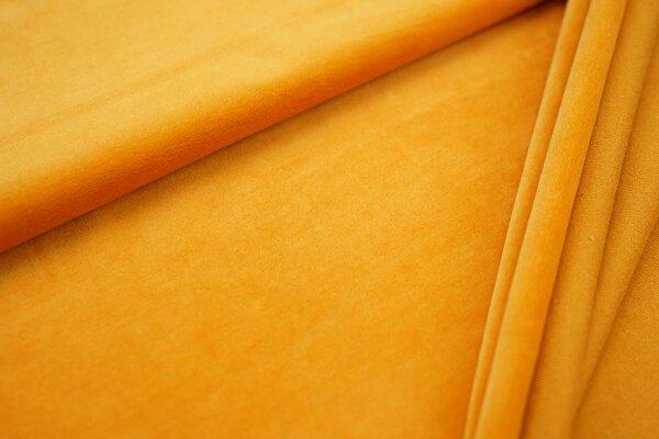 Nickistoff uni orangegelb