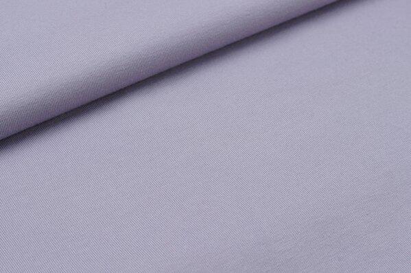 Baumwoll-Jersey uni pastell violett