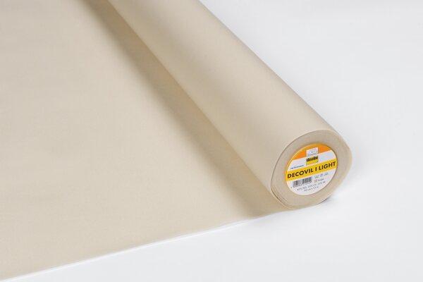 Vlieseline Decovil I Light aufbügelbare Einlage beige