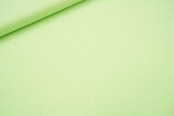 Neon Bündchen glatt Schlauchware neon grün meliert