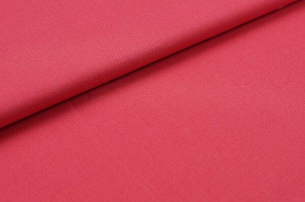 Baumwollstoff Baumwolle uni pink