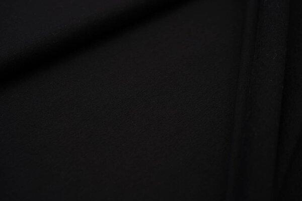 Kuscheliger Baumwoll-Sweat EIKE uni schwarz French Terry