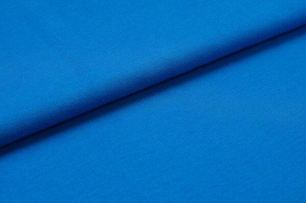 XXL Bündchen LILLY glatt Schlauchware blau