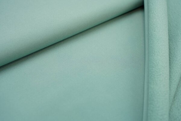 Softshell-Stoff uni mintgrün