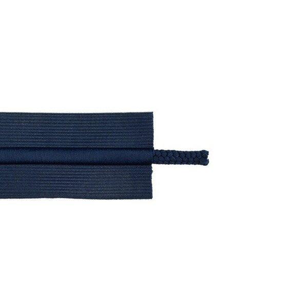 Kordelzug Gummiband elastisches Zierband für Jogginghosen dunkelblau 50 mm breit