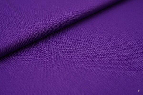 Canvas-Stoff Baumwoll Dekostoff einfarbig uni lila