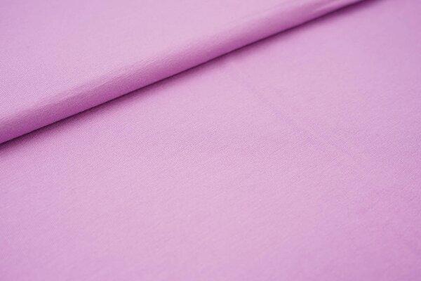 Viskose-Jersey uni pastell violett lila