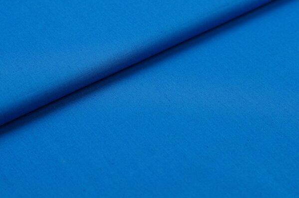 Baumwollstoff Baumwolle uni blau